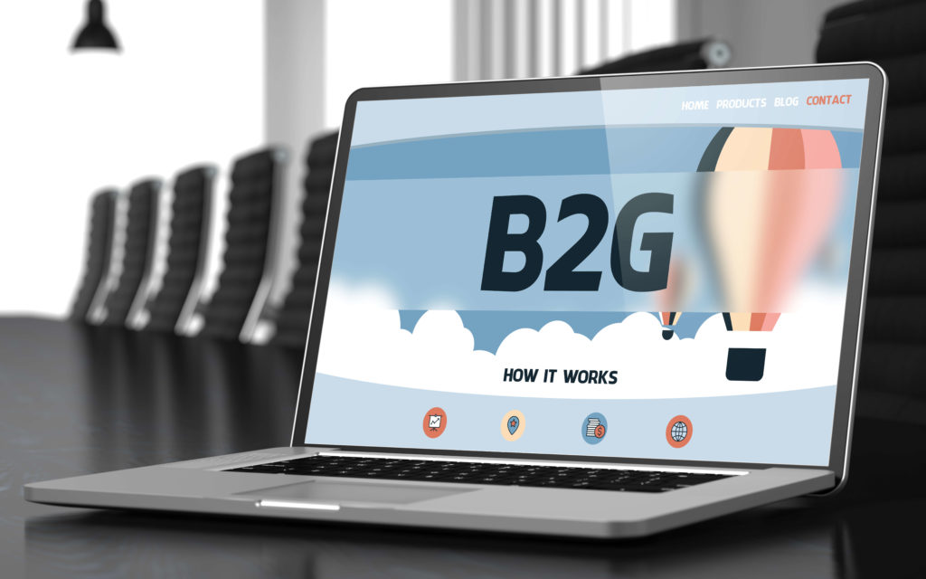 B 2 G online visibility